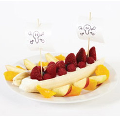 Pirate boat fruit